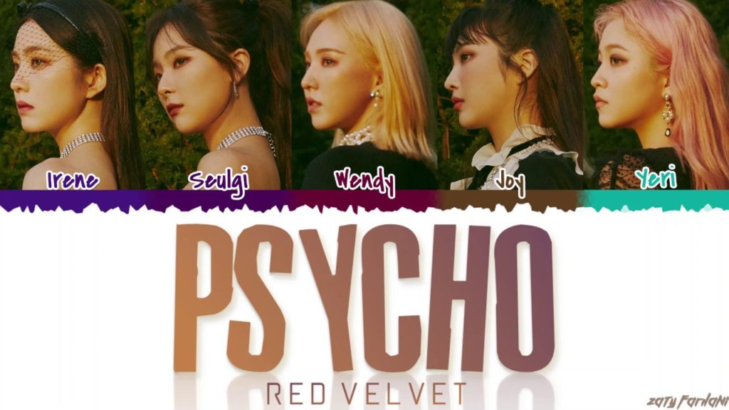 Lirik Lagu Psycho Red Velvet