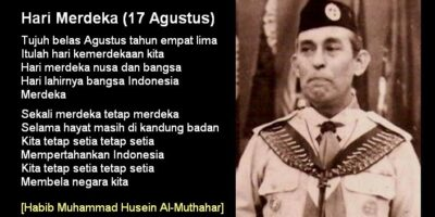 Pencipta lagu Hari Merdeka ini adalah Husein Mutahar