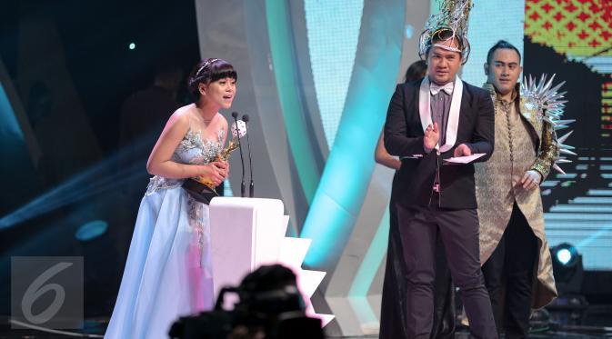 lesti Indonesian Dangdut Awards 2015